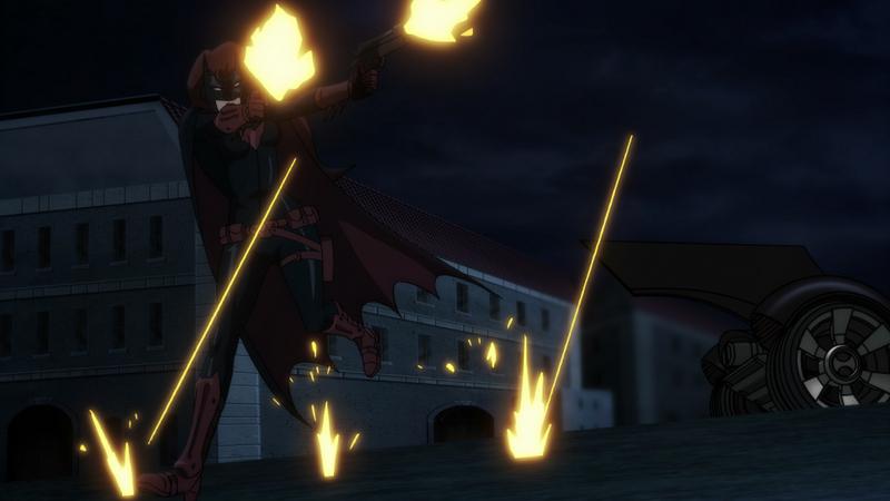 Batman Bad Blood review -Batwoman shooting