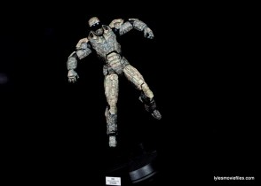 Comicave Studios Iron Man Shades figure review - flying 2