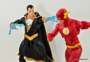 DC Icons Black Adam review - lightning attack Flash