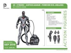 DC Icons Cyborg accessories