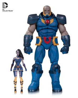 DC Icons Darkseid and Grail