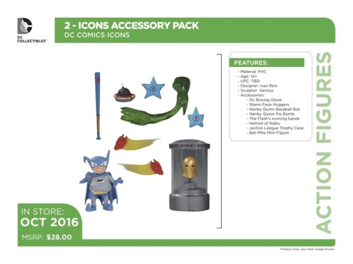 DC Icons accessory pack 4
