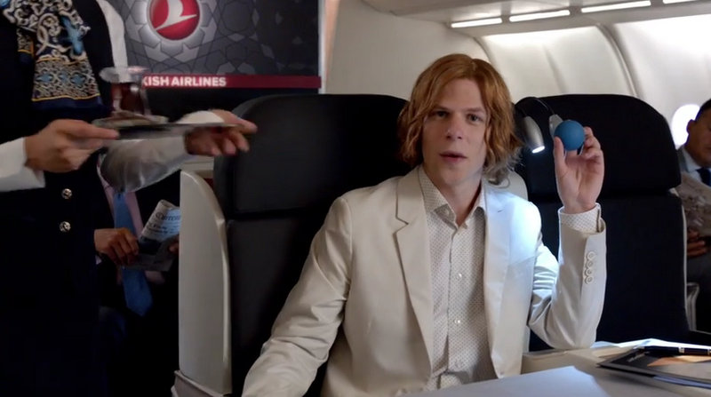 Fly to Metropolis with Turkish Airlines! - Lex Luthor
