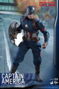 Hot Toys Captain America Civil War Captain America figure -angry Cap