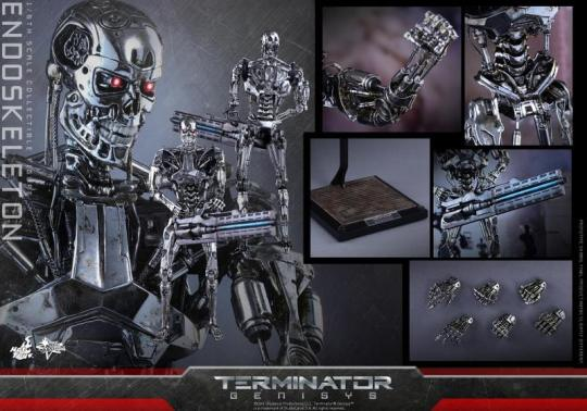 Hot Toys Terminator Genisys endoskeleton -collage
