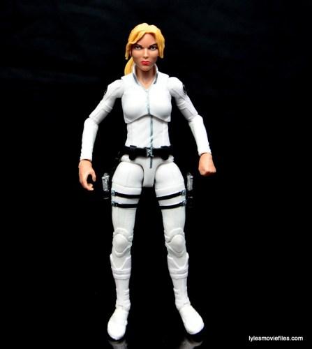 Marvel Legends Sharon Carter figure review - front