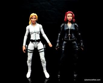 Marvel Legends Sharon Carter figure review - with Black Widow
