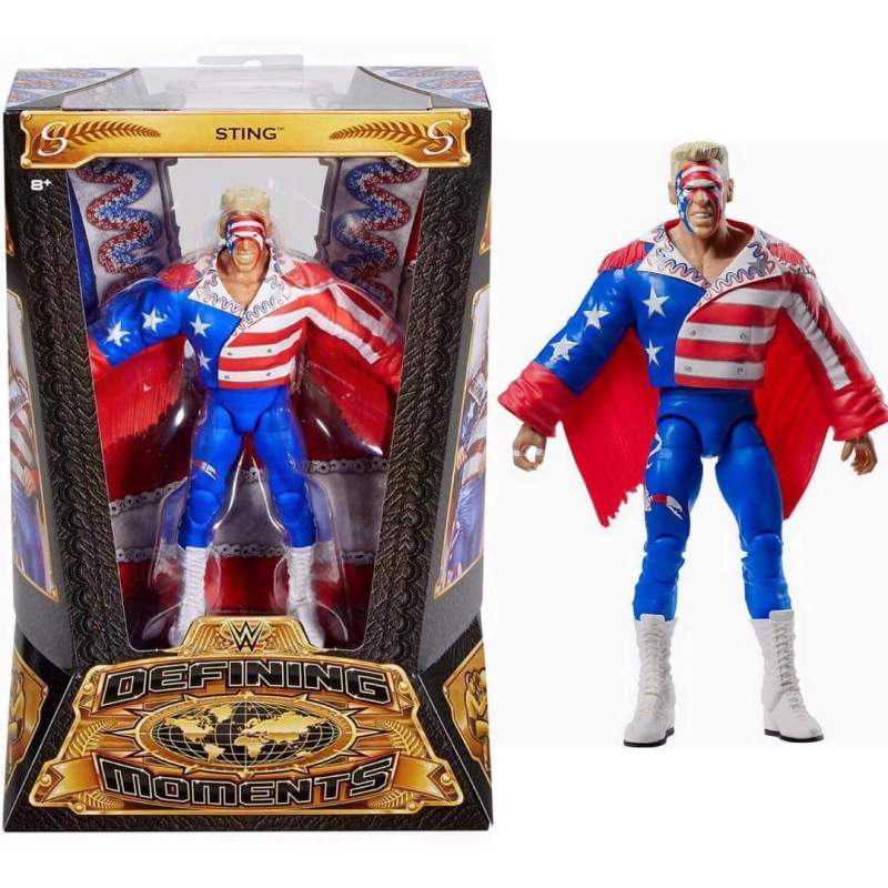 Mattel Defining Moments Sting 1990 - in package
