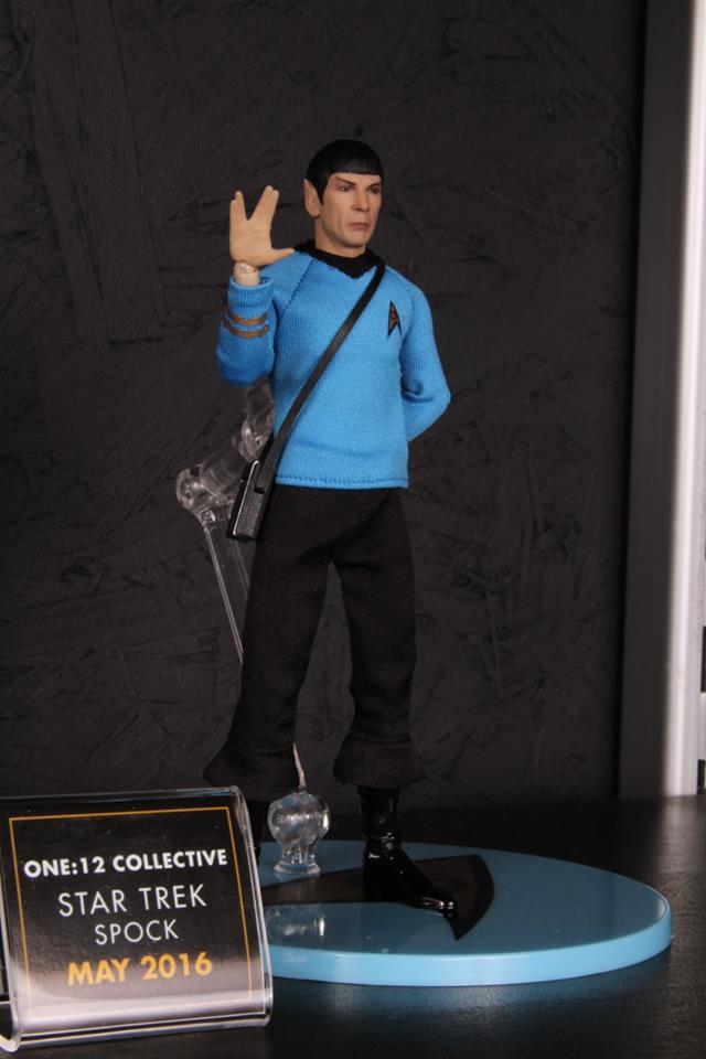 Mezco Toys pre-Toy Fair - Spock Star Trek