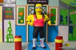 The Simpsons NECA Bret Hart - full body shot