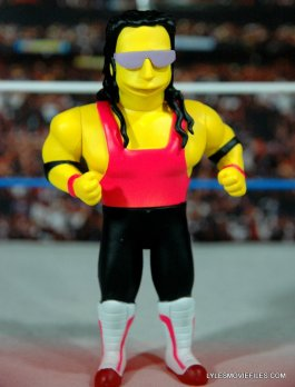 The Simpsons NECA Bret Hart - in the ring