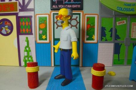 The Simpsons NECA Stan Lee figure -left side