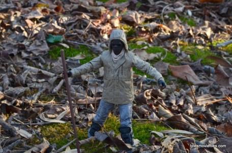 The Walking Dead Morgan Jones McFarlane Toys figure review -hiking