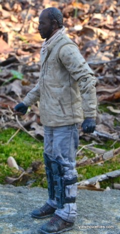 The Walking Dead Morgan Jones McFarlane Toys figure review -left side