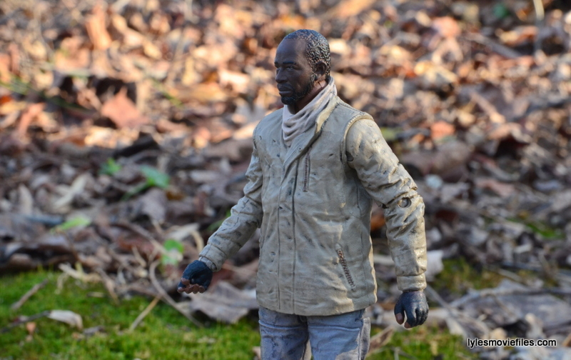 The Walking Dead Morgan Jones McFarlane Toys figure review -long shot
