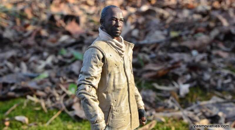 The Walking Dead Morgan Jones McFarlane Toys figure review -main profile shot
