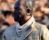 The Walking Dead Morgan Jones McFarlane Toys figure review -skin tone change