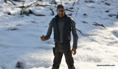 The Walking Dead The Governor McFarlane Toys review - closeup