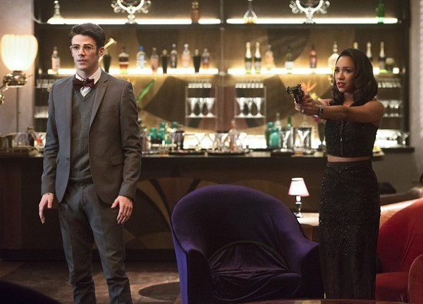 The flash - welcome to earth2 review - barry and iris