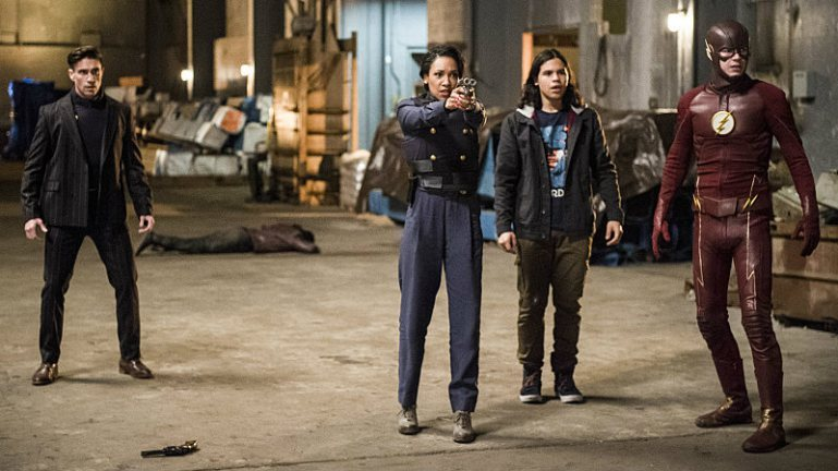 The flash - welcome to earth2 review - floyd lawton, iris, cisco and the flash