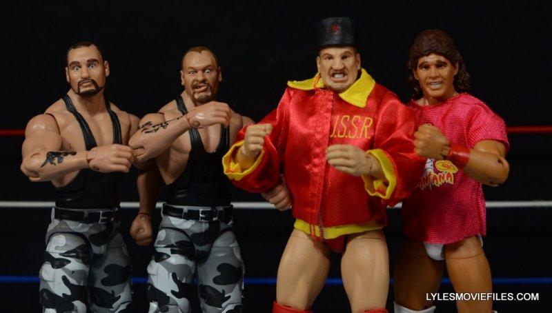 Tito Santana Mattel Hall of Fame figure -The Alliance Survivor Series 1990