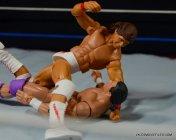 Tito Santana Mattel Hall of Fame figure - beating down The Model