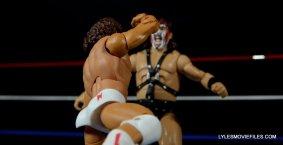 Tito Santana Mattel Hall of Fame figure -flying forearm to Smash