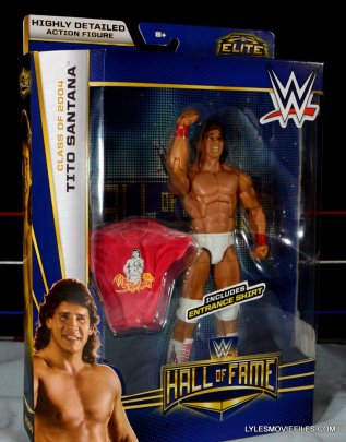 Tito Santana Mattel Hall of Fame figure - in package