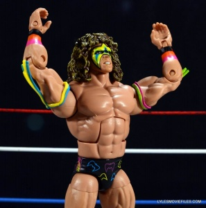 Ultimate Warrior Hall of Fame figure -Warrior pose