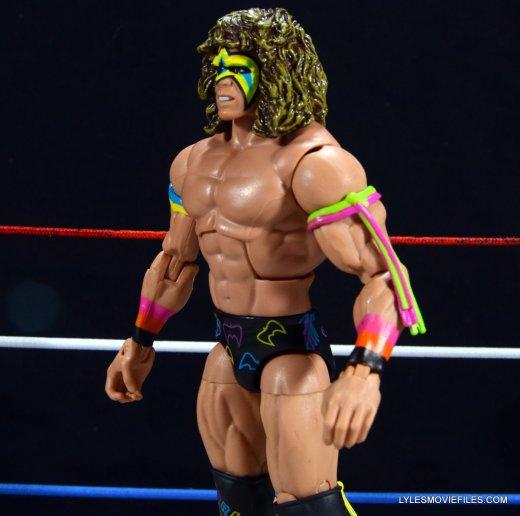 Ultimate Warrior Hall of Fame figure -left side close up