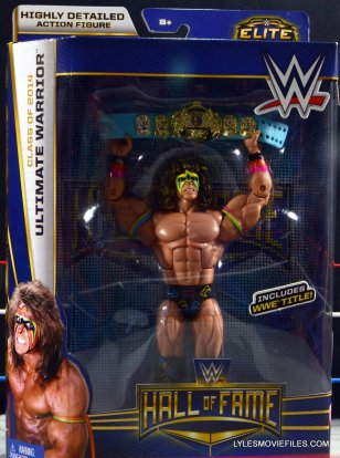 Ultimate Warrior Hall of Fame figure - package
