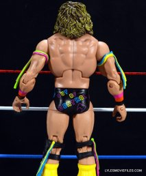 Ultimate Warrior Hall of Fame figure -rear detail
