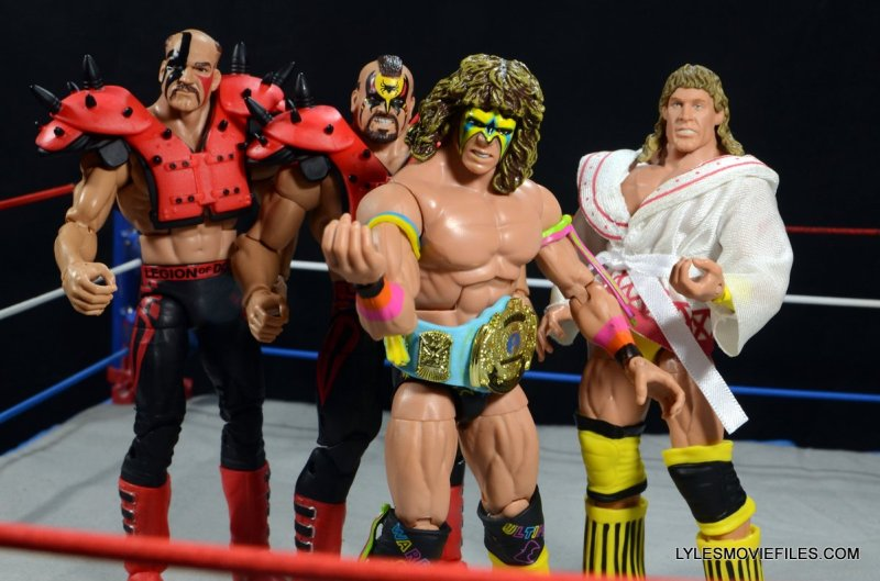 Ultimate Warrior Hall of Fame figure -with Ultimate Warriors
