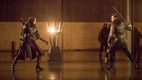 arrow - sins of the father review - nyssa vs merlyn