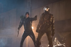 dc's legends of tomorrow - star city 2046 review - green arrow vs deathstroke