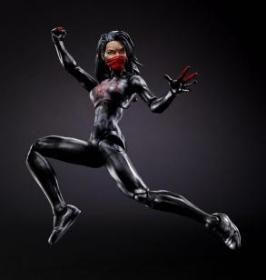 spider-man marvel legends - silk