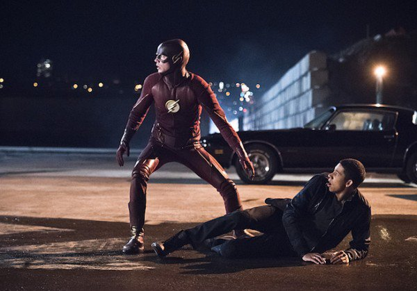 the flash fast lane review - flash and wally west