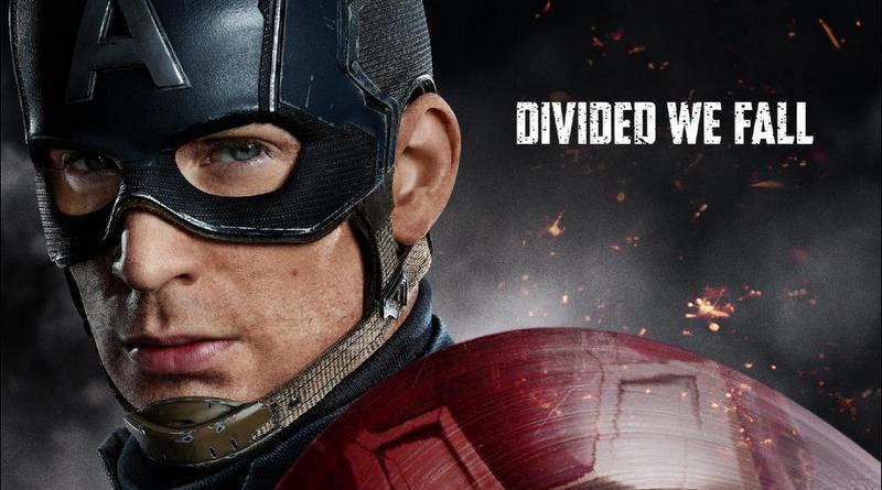 Captain America Civil War poster -Cap vs Iron Man