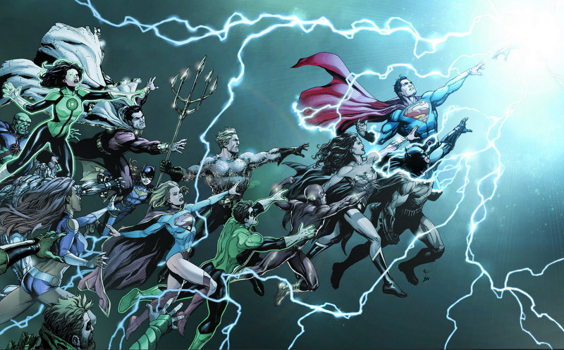 DC Comics REBIRTH - DC Rebirth cover