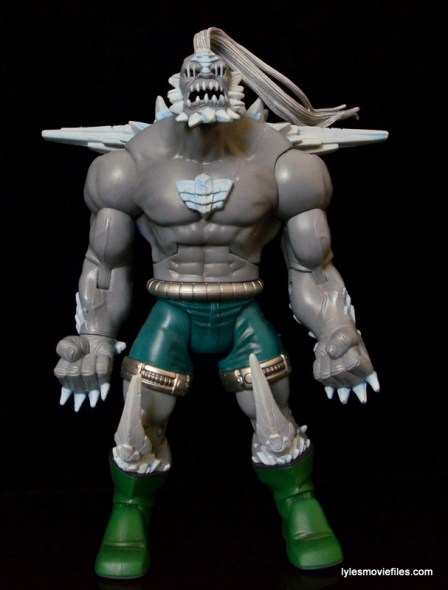 DC Signature Series Doomsday figure review - front