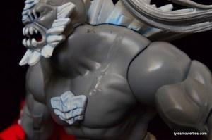 DC Signature Series Doomsday figure review - glue smear