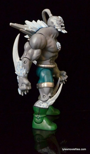 DC Signature Series Doomsday figure review - right side