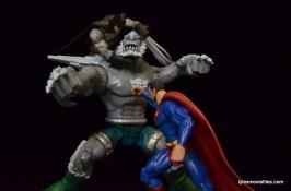 DC Signature Series Doomsday figure review - vs Batman and Superman