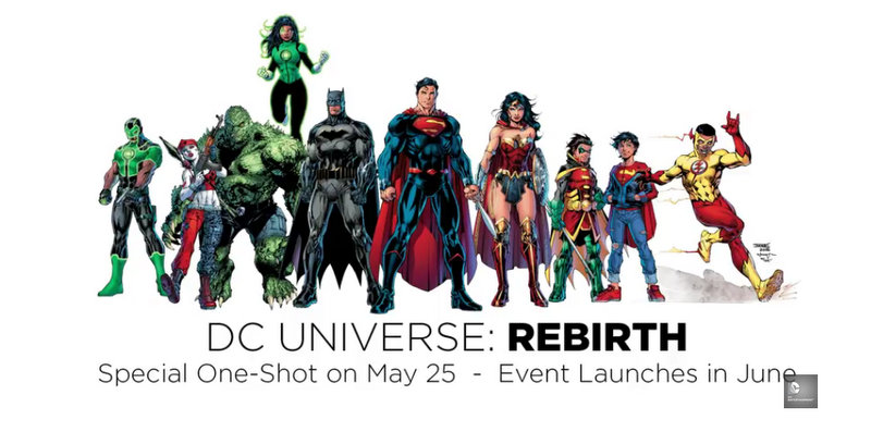 DCRebirth DC Comics - DC Films Rebirth