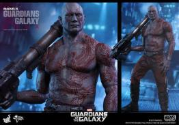 Hot Toys Guardian of the Galaxy Drax figure - with gun