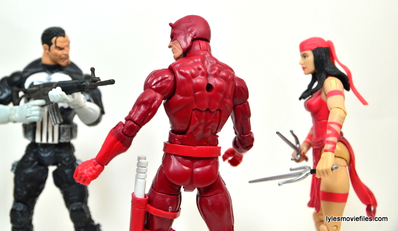 Marvel Legends Series 4 Punisher -face off with Daredevil and Elektra
