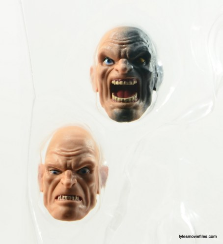 Marvel Legends Venom figure review - Absorbing Man heads