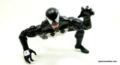 Marvel Legends Venom figure review - crawling 2