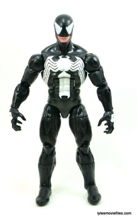 Marvel Legends Venom figure review - front