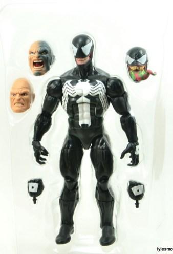 Marvel Legends Venom figure review - package tray